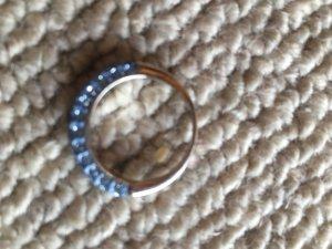 "Blau ""krystal"" Ring"