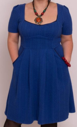 Marc Jacobs A-lijn jurk blauw Katoen