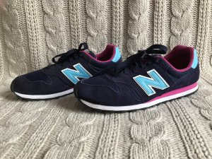 blau–pinke Sneaker von New Balance