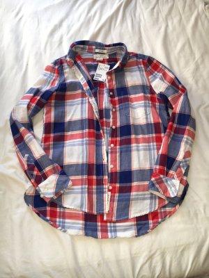 Blau-Rot-Weiß Hemd von H&M