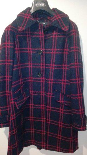Blau/Roter Mantel H&M