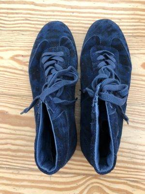 Liebeskind Berlin Lace-Up Sneaker black-blue