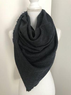 Blau schwarzer Gucci Schal