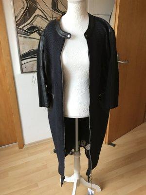 Gerry Weber Abito jersey nero-blu acciaio Tessuto misto
