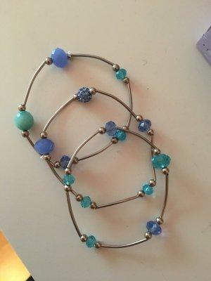 Blau türkise Armbänder
