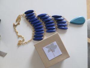 Blau-Türkise Kette von David Aubrey (IBIZA Style)