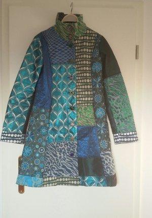 Blau türkiser Mantel von Desigual