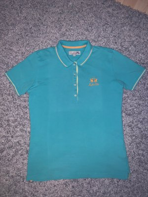 Blau Türkises la Martina Polo Shirt