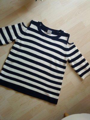 blau weiß geringelter Pullover Vero moda L