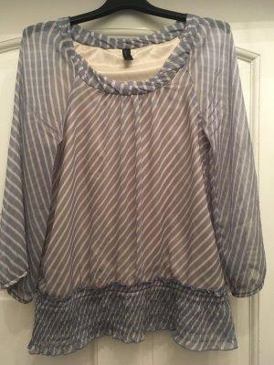 Blau weiß gestreifte Bluse im l von Vero Moda