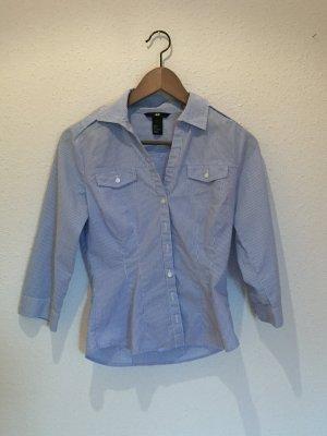Blau-weiß gestreifte Bluse von H&M Größe 36