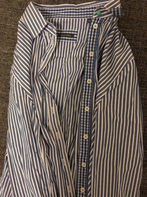 Blau-Weiß gestreifte Bluse von Marc O'Polo