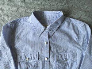 Blau/weiß gestreifte Bluse von Michael Kors