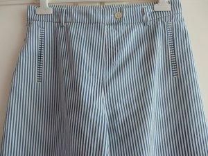 Blau-Weiß gestreifte Hose Marlenehose von Cinque Gr 38 S / M