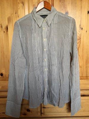 Blau weiß gestreifte leichte Bluse von Polo Ralph Lauren
