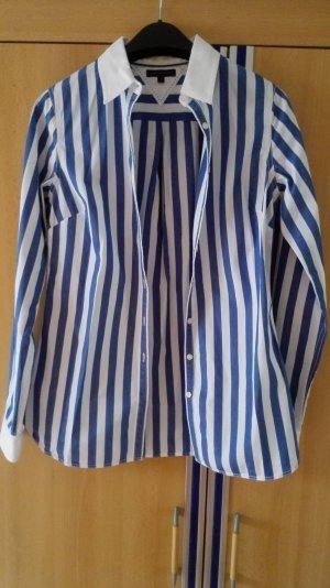 Blau weiß gestreifte Tommy Hilfiger Bluse Größe 36 S