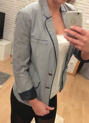 Jersey Blazer blanco-azul