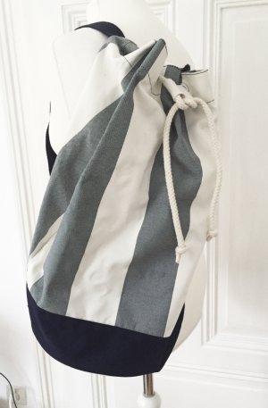 Blau weiss Gestreifter Rucksack in Marinelook von Hilfiger