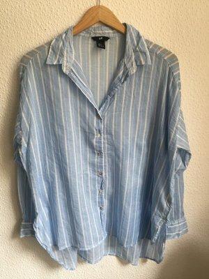 blau weiss gestreiftes Hemd von H&M 34 XS
