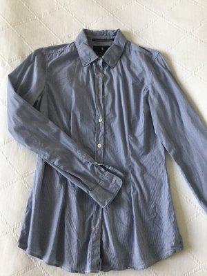 Blau-weiß gestreiftes Hemd von Maison Scotch