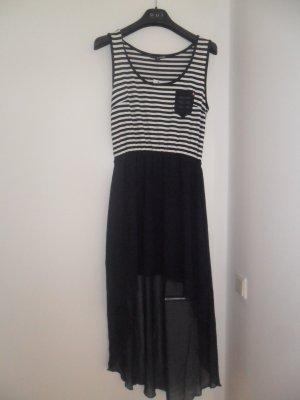 Blau/ Weiss gestreiftes Kleid Gr. 38