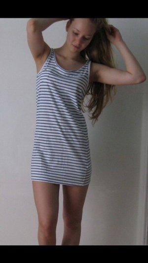 Blau- weiß gestreiftes Kleid, neuwertig, Größe S, Maritim