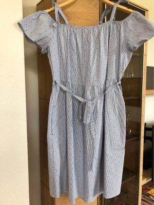 Blau weiß gestreiftes Kleid von Esprit