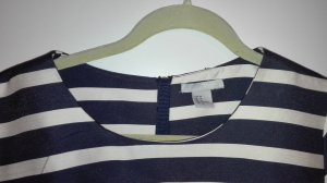 Blau weiß gestreiftes Marinekleid H&M