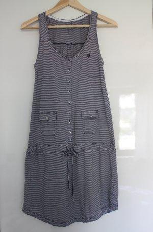 blau weiß gestreiftes Sommerkleid von Basefield