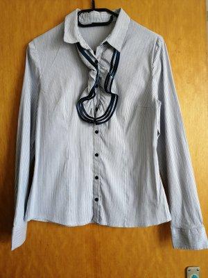 blau weiß Hemd