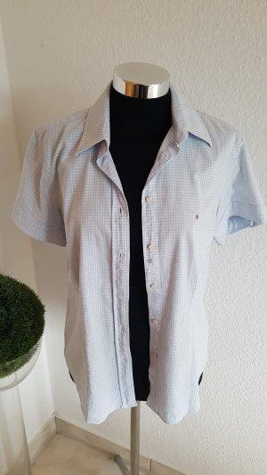 Blau weiß karierte Bluse von Gant in Größe 38. Gerne getragen. Ohne Fiecken und Mängel