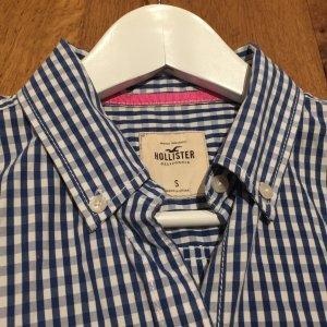 Blau-weiß kariertes Hemd von Hollister