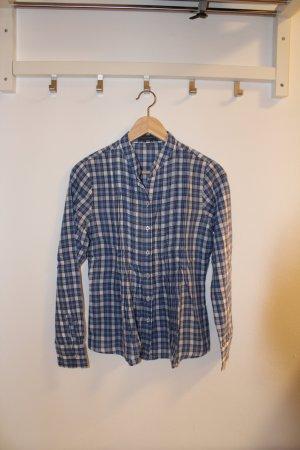 blau/weiße Bluse von Sandra Pabst
