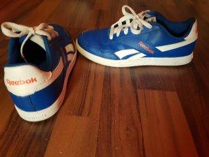 Blau-weiße Reebok Sneaker
