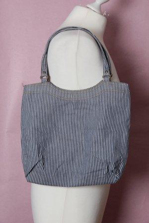 Blau-weiße Tasche NEU