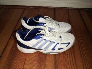 Blau weiße Turnschuhe von Adidas 40