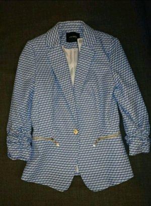 Blau-weißer Blazer von Orsay