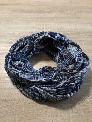 Esprit Tube Scarf white-dark blue