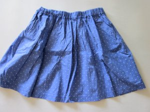 Blau, Weißer Punkterock, Größe 34, ragwear