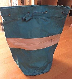 blau/weißer Rucksack neu