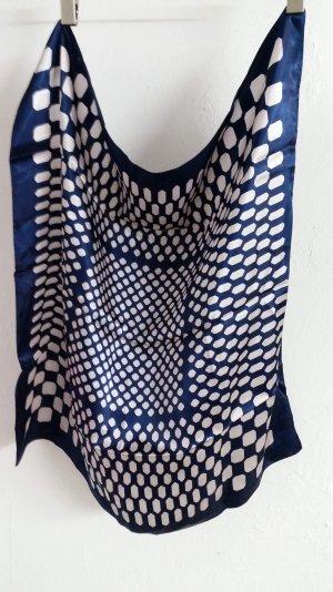 Blau/ weißes Halstuch