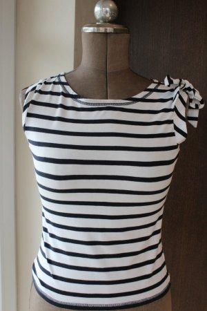 Blau weißes Marine Top / T-Shirt von Esprit