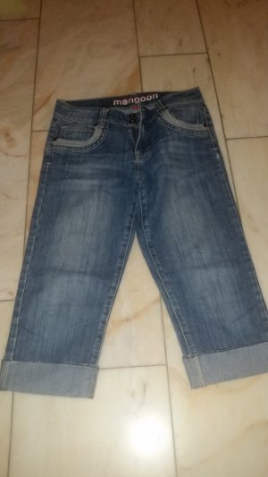 Manguun 3/4 Length Jeans blue