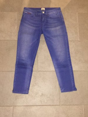 Blaue 3/4 Jeans