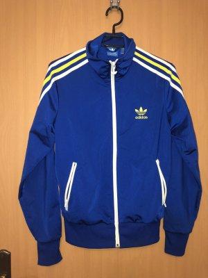 Blaue Adidas Jacke