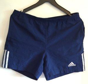 Blaue Adidas Sporthose