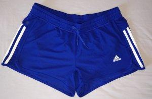 Blaue Adidias Sporthose, Shorts, Gr.M