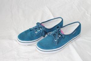 Blaue Ballerina-Sneaker von Adidas