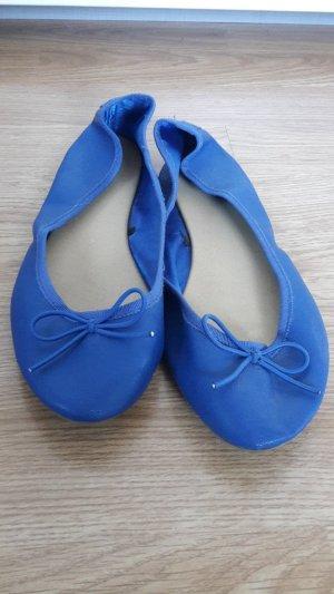 blaue Ballerinas von H&M
