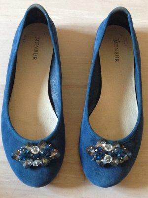 Blaue Ballerinas von Menbur